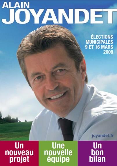 Alain Joyandet élections municipales 2008 à Vesoul