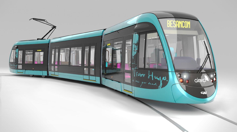 Et si le tramway du grand besan on s habillait couleur platane le bisonteint - Dessin tramway ...