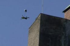 base-jump Citadelle de Besançon