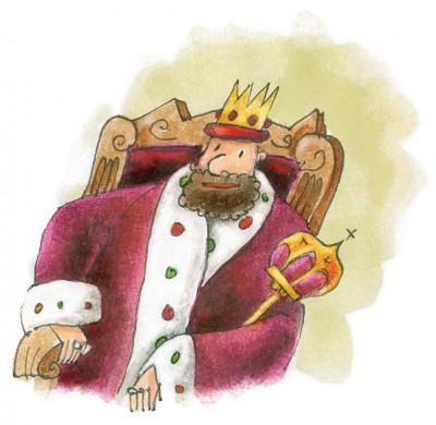 Image D Un Roi un roi débonnaire | le bisonteint
