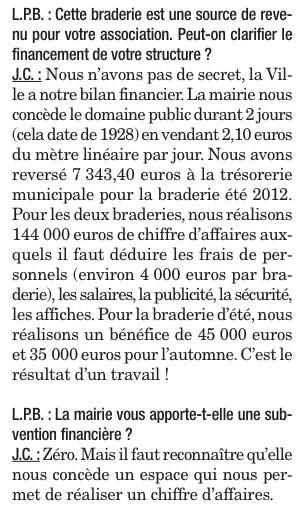 Presse Bisontine (septembre 2012)